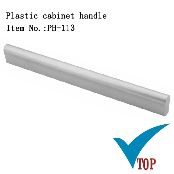 Cabinet furniture plastic mirror with handle