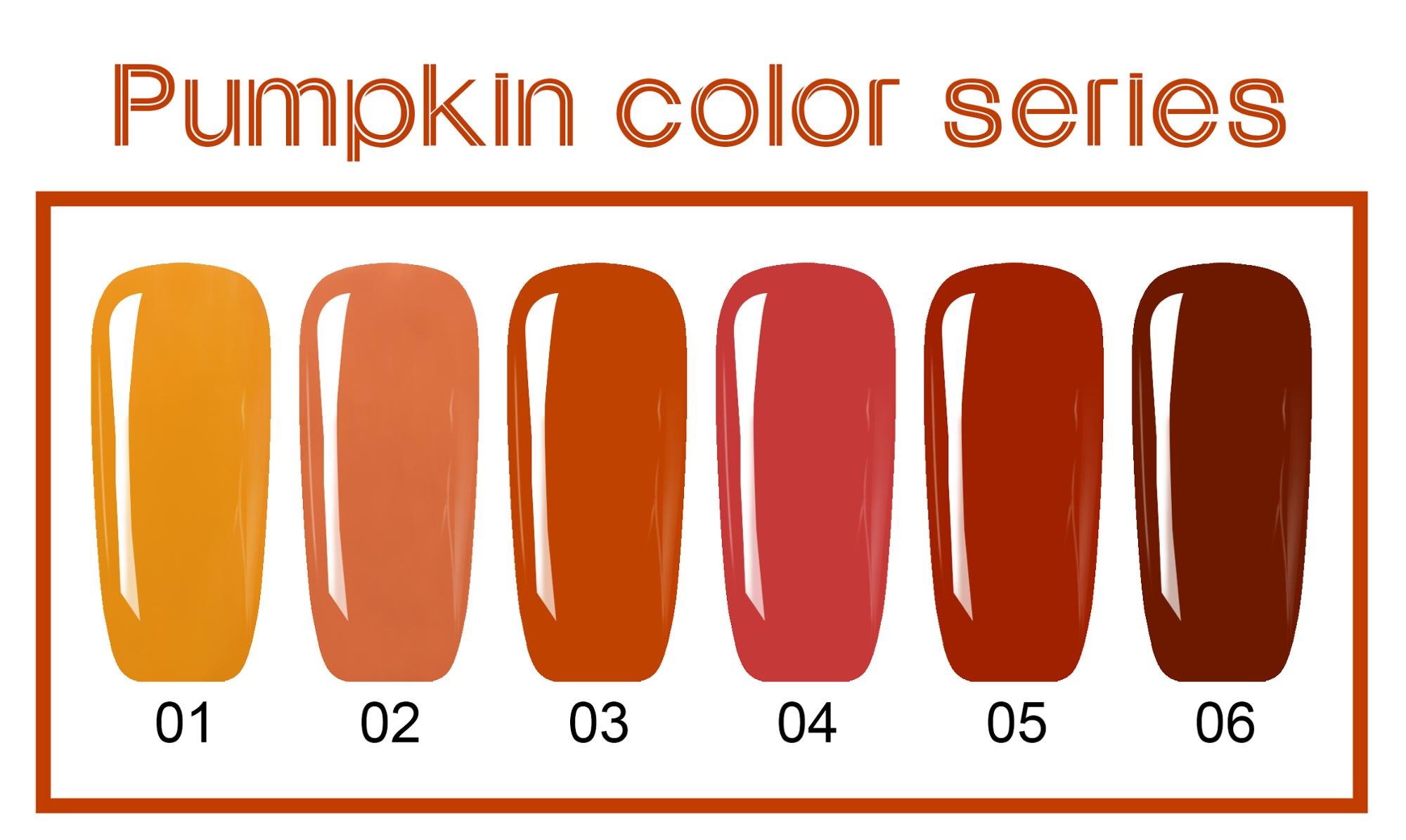 L&M China Supplier L&M Gelartist Pumpkin Color Lastest Gel Nail Polish Kit