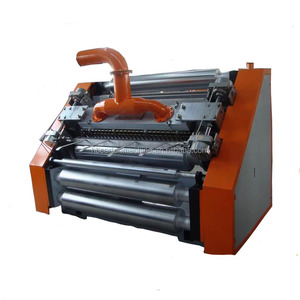 Good price corrugated single facer machine carton box making machine