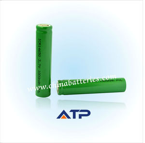 Wholesale Lithium Battery for 14650 Mechanical Mod / Rechargeable Battery 3.6V 1000mAh