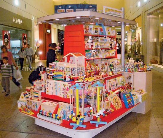 commercial shopping mall unit RMU for Kids toy display counter