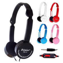 Children Kids Foldable Portable Headphones Travel Game Headset 3.5mm Earphone With Microphone Wire Control For MP3 MP4 Gift