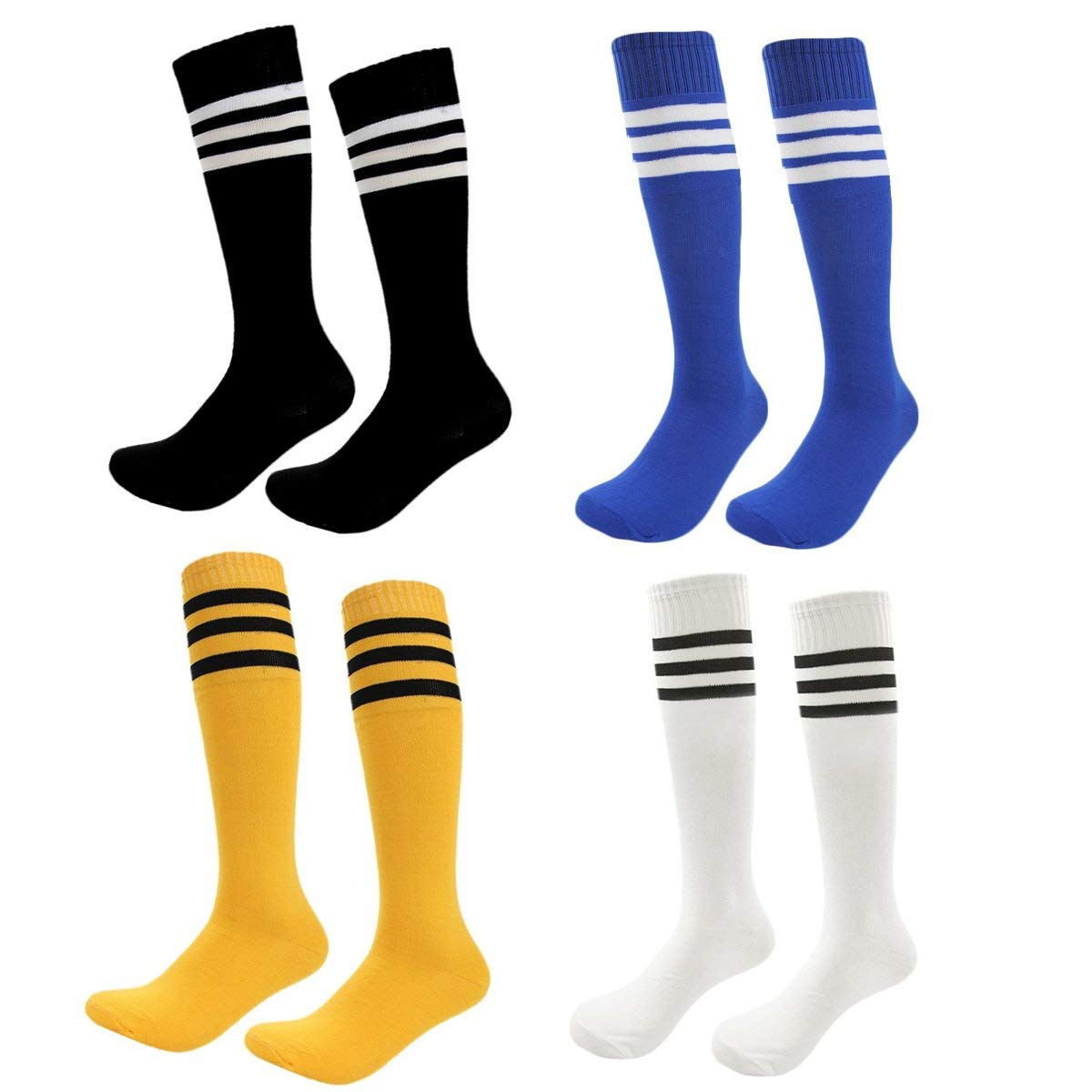 Children Football Socks Boys Soccer Sock Men Sport Football Soccer Long Socks Above Over Knee High Sock Baseball Hockey Home