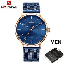 NAVIFORCE женские часы Топ бренд класса люкс водонепроницаемые женские часы модные парные часы браслет часы donna orologio reloj mujer(Китай)