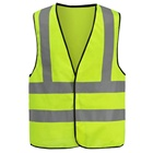Yellow Hi Vis Reflective Safety Vest