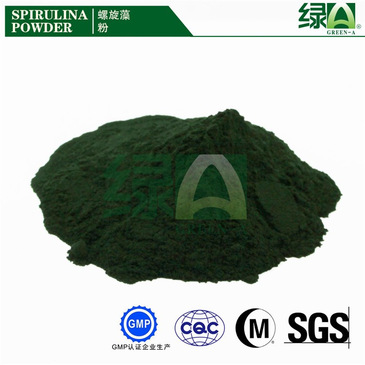 Most Popular Energy Food Anti-fatigue Supplement Iso Approved Spirulina Powder