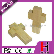 cross wooden USB disk for christian