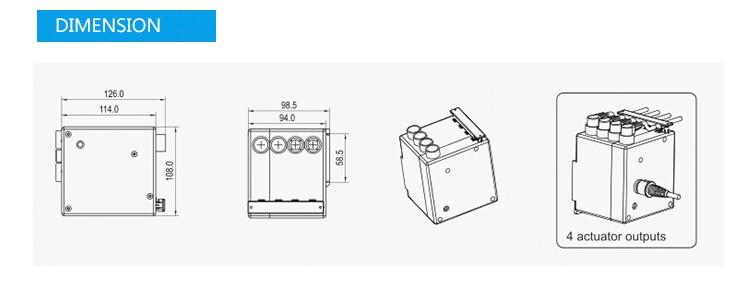 jiecang jcj35d max connect 4 linear actuators max 100w