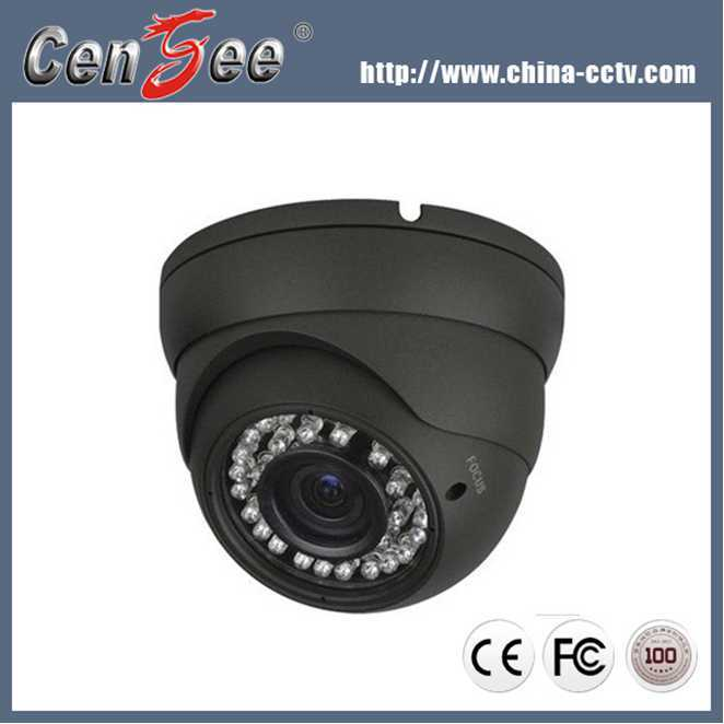 2.8-12mm Zoom Lens CCD IR LED Vandal Proof 600TVL Dome CCTV Camera Price