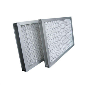 Ventilation System G3 G4 Panel Pleated Pre Dust Air Filter