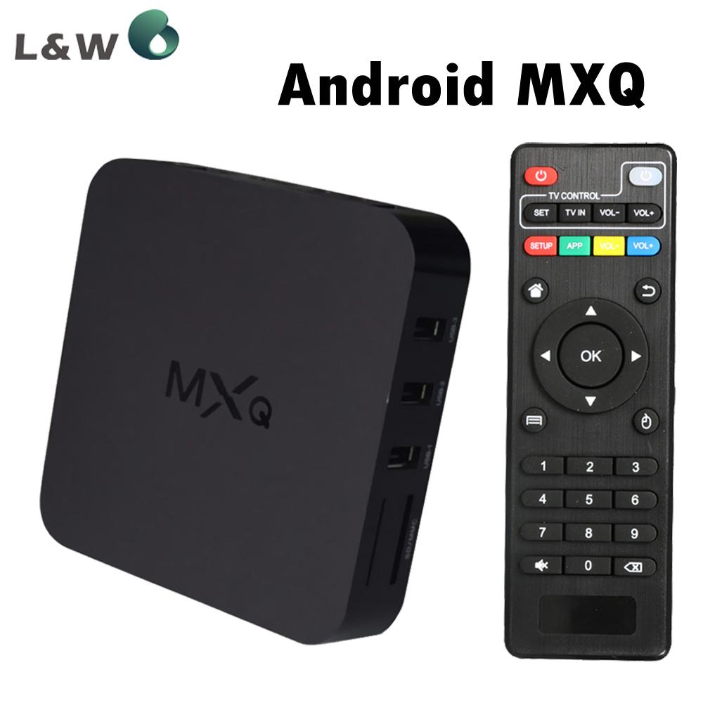 2014 New MXQ  1GB/8GB TV BOX MX Amlogic S805 Quad Core Android 4.4 Kitkat 4K