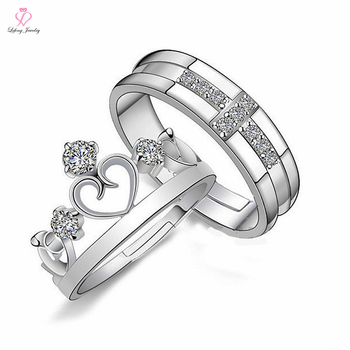 Korean Jewelry Latest Sample Design Vogue Wedding RingKing And