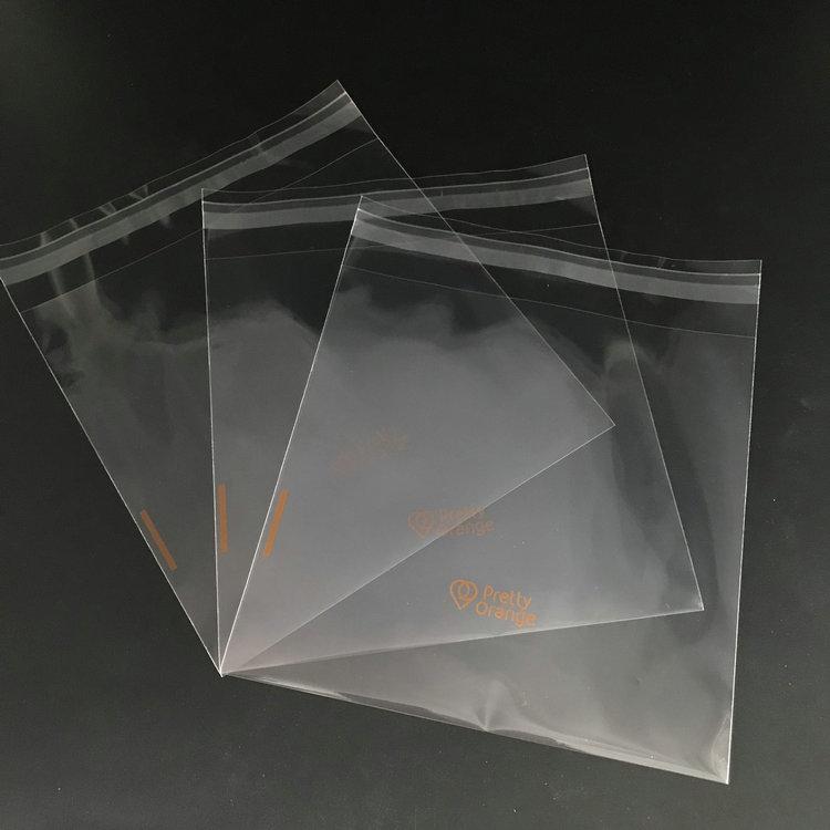 T shirt Packaging Suppliers Transparent Opp Poly Bags Custom T shirt Packaging