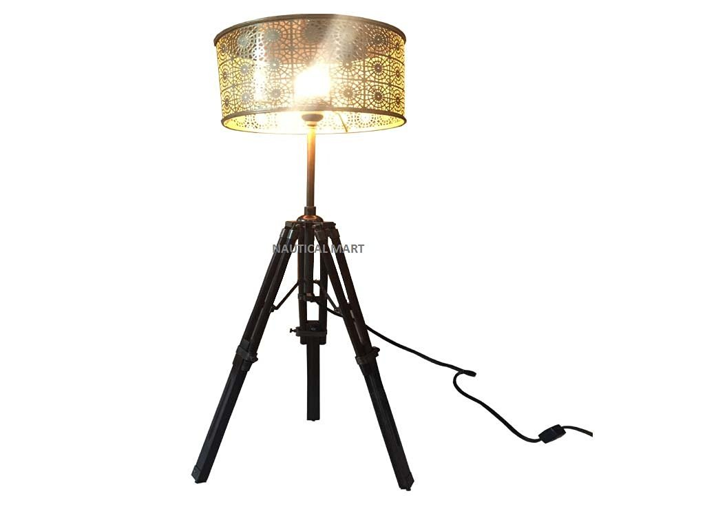 Cheap tripod floor lamp find tripod floor lamp deals on line at designer nautical floor lamp tripod lamp vintage look metal shade mozeypictures Choice Image