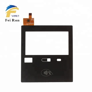 Made in China Custom size 4.3 inch capacitive touch panel for building intercom with I2C interface payment terminal