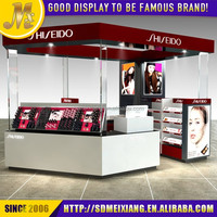 MX-SP103 fashionable wood material shop desk counter for cosmetic / cosmetic shop counter design
