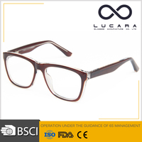 Thick Horn Rimmed Eye Glasses Clear Lens prescription Frame CP Optical Eyewear