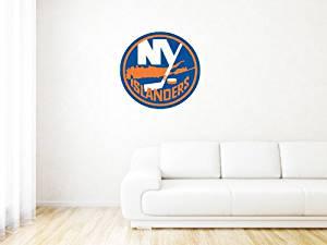 "New York Islanders NHL Logo Wall Graphic Decal Sticker (25"" x 24"")"