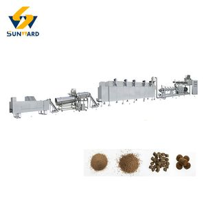 China Jinan Full automatic fish feed machine manufacturer in India