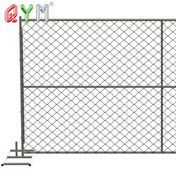 Iron Steel Pipes Infilled Temporary Frame Fence Gate - Buy Luxury ...