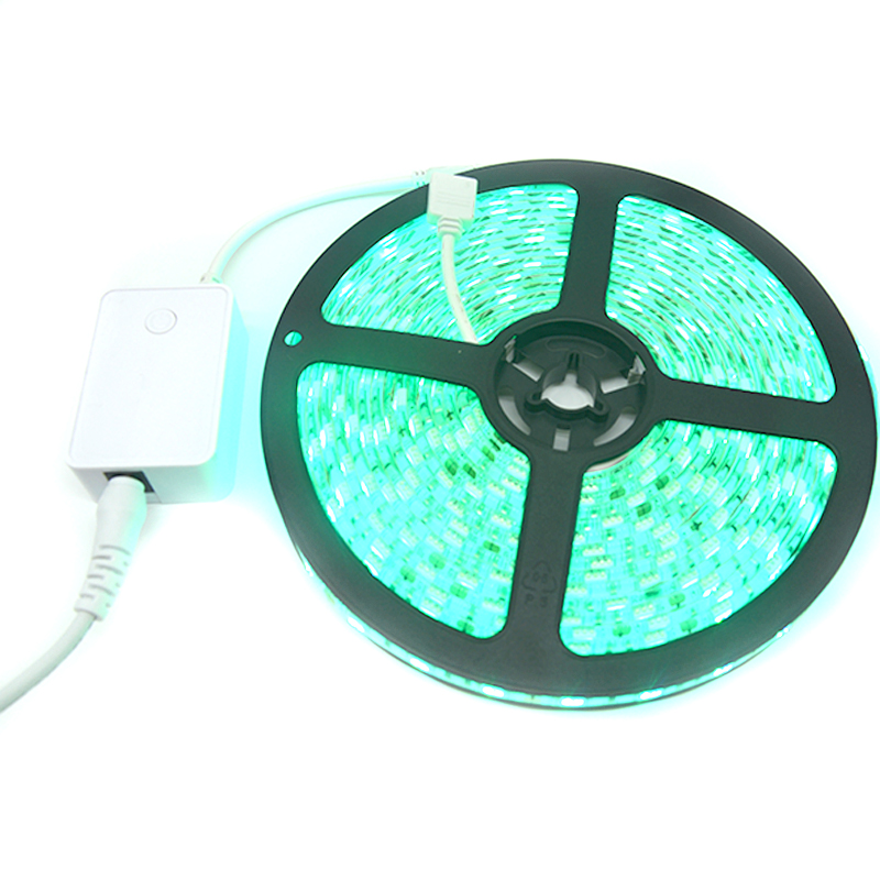 CE/RoHs Waterproof <strong>RGB</strong> IP65 led light strip SMD5050 flexible LED strip
