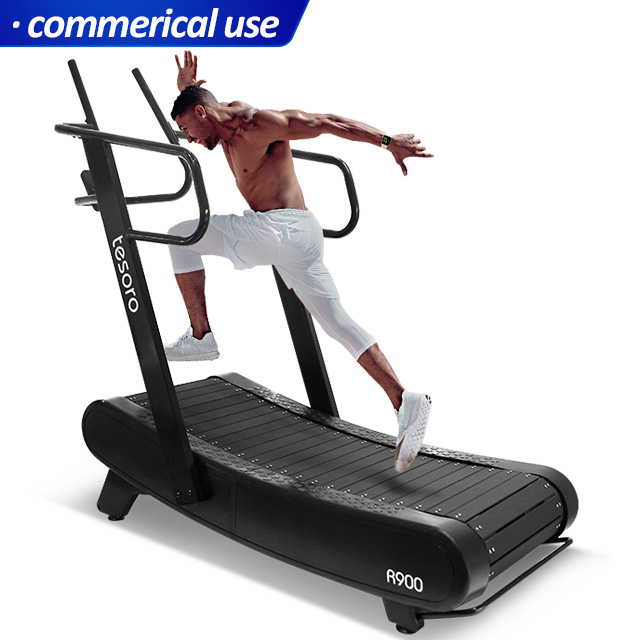 new innovation curved treadmill wholesale woodway treadmill non-motorized treadmill for commerical use gym studio