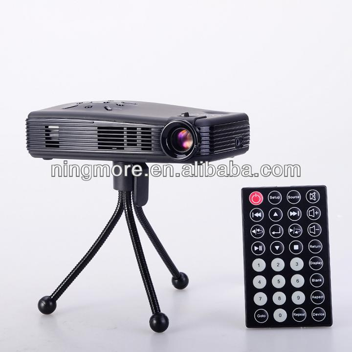 2013 New Fashion Design clear projection 1080P android mini projector P809C