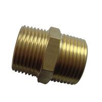 China custom Screw Machine Products CNC Turned Parts Brass Hydraulic Pneumatic Threaded