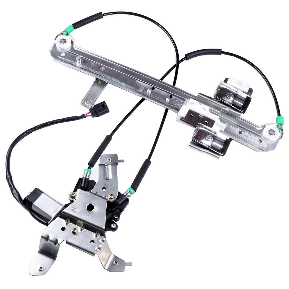 Get Quotations Cciyu Rear Right Pengers Side Window Lift Regulator With Motor Embly Replacement For 2002