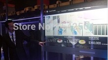 Interactive Touch foil 42″ transparent multi touch film , 10 points Capacitive / soft and interactive touch screen film