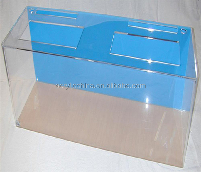 Factory custom acryl aquarium aquarium, 500 liter watertank prijs