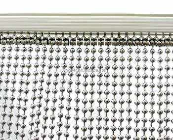 Metal Bead Curtain/ Metal Beaded Chain Curtain /Metal String Link Curtain