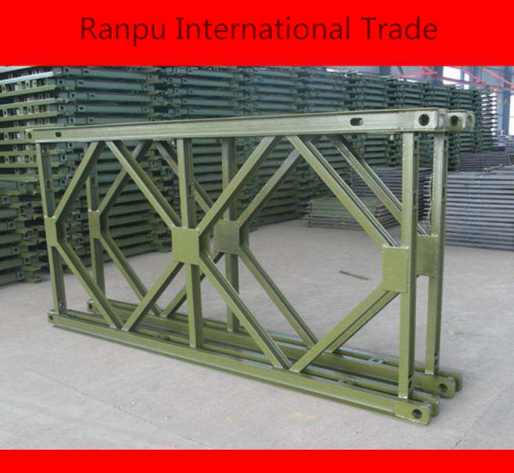 High quality customized steel structure bailey bridge