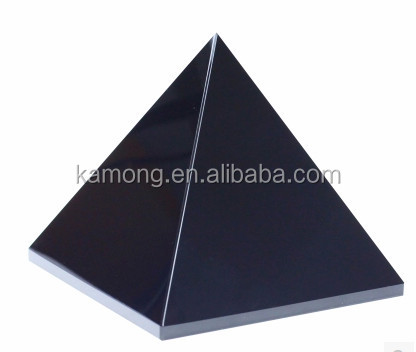 New arrival black crystal pyramid for paperweight gifts