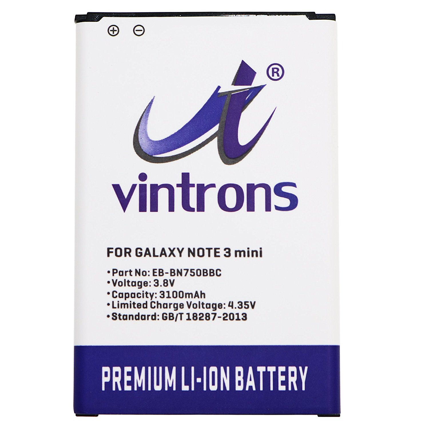 VINTRONS 3100mAh Replacement Battery EB-BN750BBC For Galaxy Note 3 mini