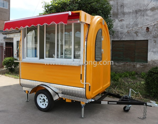 BEST PRICE Mobile Food Trailer Street Hot Dog Cart Coffee For Sale