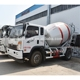 3 cubic meters concrete mixer truck good price
