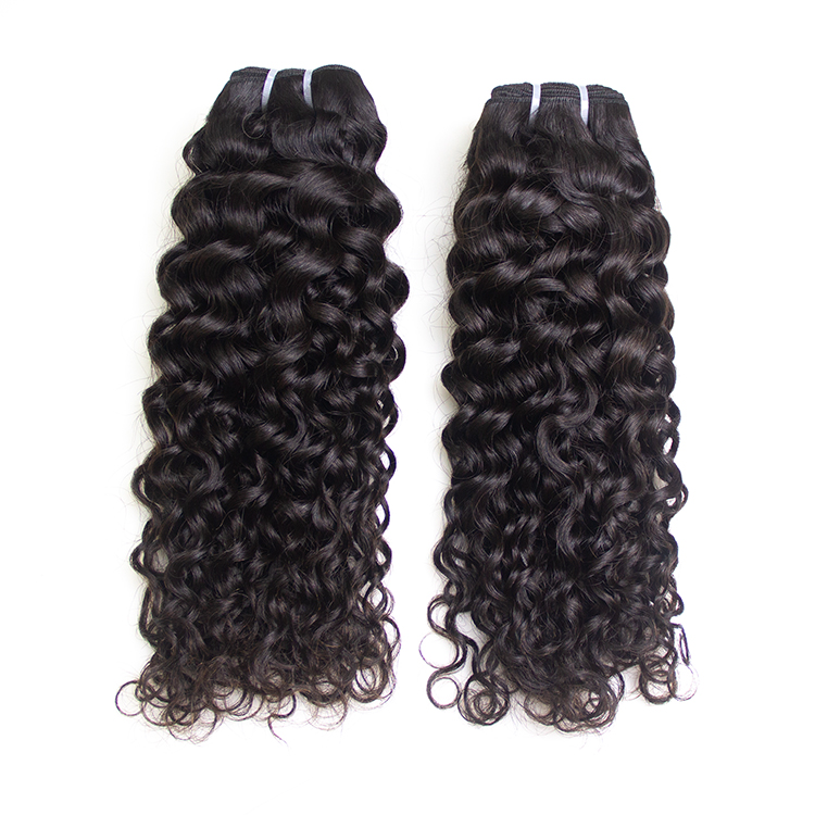 Wholesale Factory Raw Burmese Cuticle Aligned Wave , 100 Unprocessed Mink Virgin Brazilian Curly Human Hair Extension Vendor, Natural color #1b