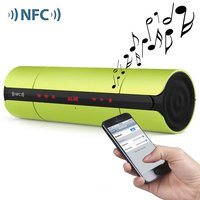 Bluetooth V3.0 NFC Speaker with LED Screen FM Radio for Smartphones PC MP3 MP4 wireless bluetooth speaker
