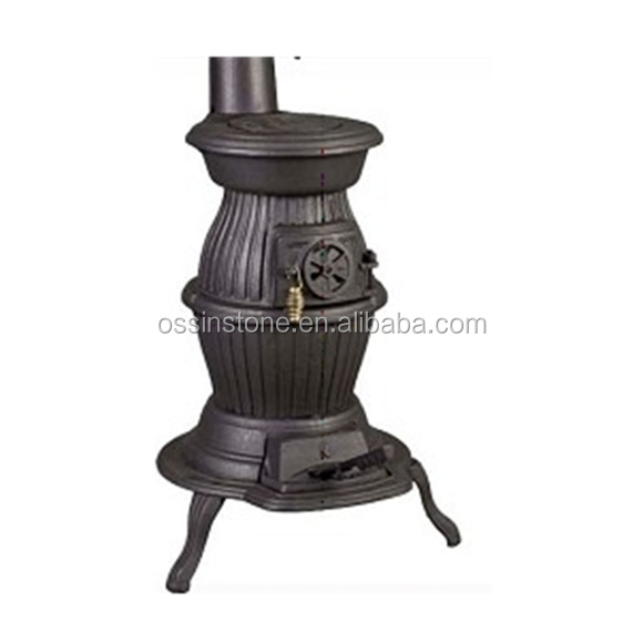 Asian pot bellied gas stove
