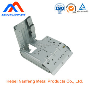 CNC stamping punching air conditioner motor shell
