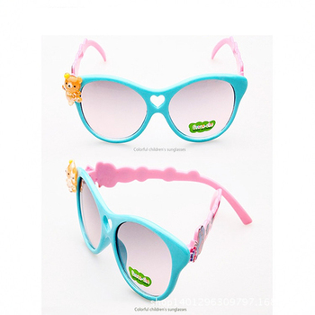 dc1f41455f JLB67 New Design Cartoon Heart UV Sunglasses Fashion Cute Kids Sunglasses  Multi Colors Summer Style Girls