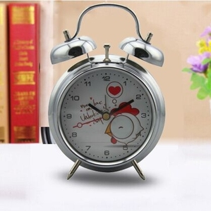 industrial loud children mechanical azan metal table alarm clock