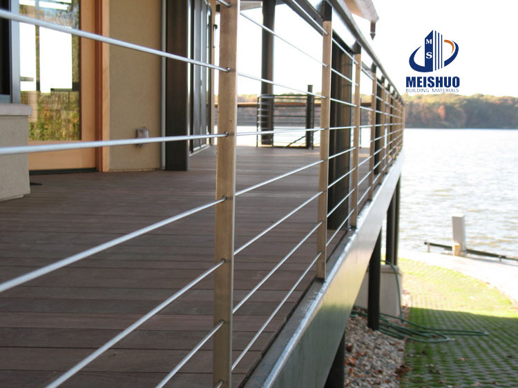 Stainless Steel balustrade railing system for decking use