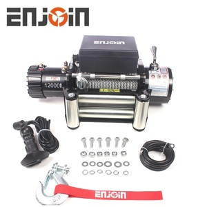 ENJOIN 4WD Winch 12000 lbs 12 v Electrical Cable Winch