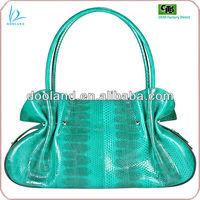 Real snake skin brand name designer handbag