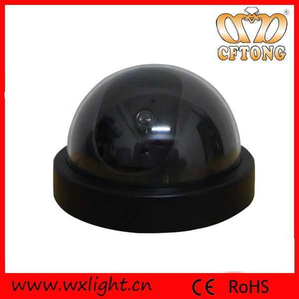 Led Sensor Dome Fake Security Camera