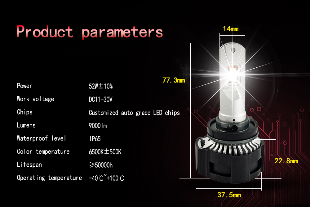P18 H7 car led store online full headlights for car