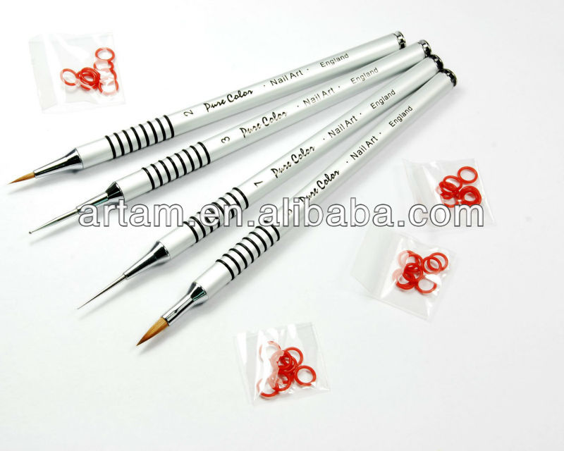 Rubber Nail Art Brush System Buy Nail Art Brush Setnail Art