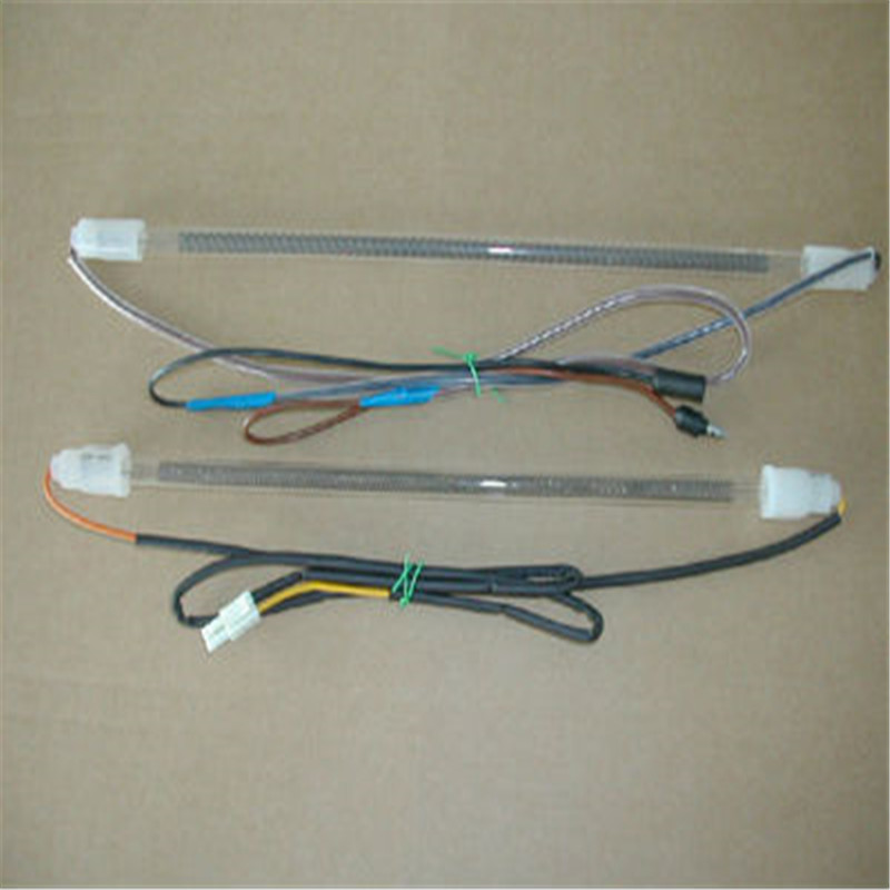 low price glass tube heater /window heaters /refrigerator defrost